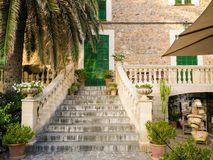 Port de Soller. City in Mallorca, Balearic island Royalty Free Stock Photo