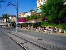 Port de Soller. City in Mallorca, Balearic island Stock Images
