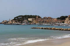 Port de Soller in Majorca, Spain Royalty Free Stock Image