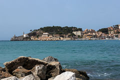 Port de Soller in Majorca, Spain Stock Photography