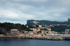 Port de Soller Mallorca Stock Images