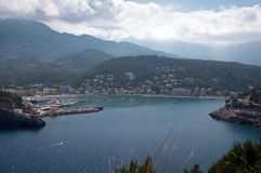 Port de Soller Mallorca Royalty Free Stock Photography