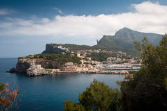Port de Soller Mallorca Royalty Free Stock Photos