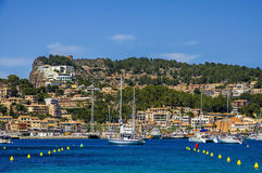 Port DE Soller in Mallorca Stock Fotografie