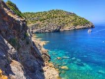 Port de Soller - Mallorca Stockfoto