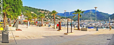 Port de Soller, Mallorca Royalty Free Stock Images