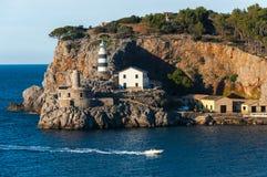 Port de Soller. On Spain island Mallorca stock photo