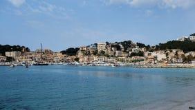 Port de Soller. View of Port de Soller, Spain Royalty Free Stock Image