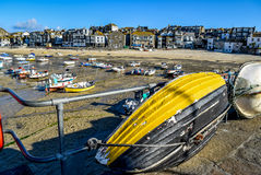 Port de St Ives Images libres de droits