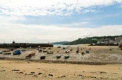 Port de St Ives image libre de droits