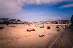 Port de St Ives Photographie stock