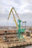 Port de St Petersbourg de ville Images stock