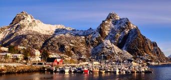 Port de Svolvaer Photographie stock