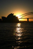 Port de Sydney Photos stock