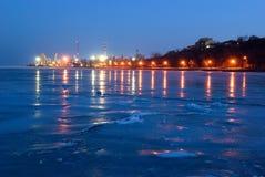 Port de Taganrog La Russie Russie Image stock