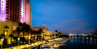 Port de Tampa Bay Photos stock