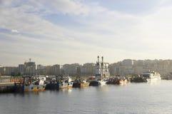 Port de Tanger Photos stock