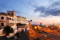 Port de Tanger Images libres de droits