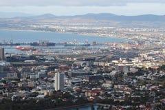 Port de terminal de récipient de Cape Town Images libres de droits