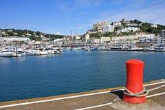Port de Torquay Photos libres de droits