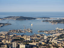 Port de Toulon Image stock