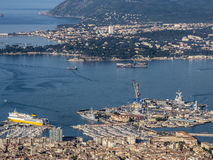 Port de Toulon Images stock