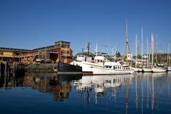 Port de Townsend gauche Images libres de droits