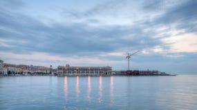 Port de Trieste photographie stock