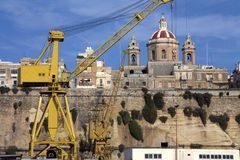Port de Valletta photos stock