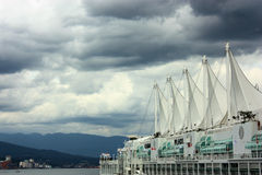 Port de Vancouver Photos libres de droits