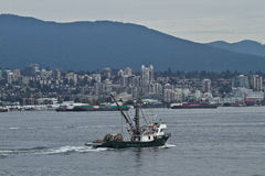 Port de Vancouver Photo stock