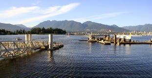 Port de Vancouver, Canada Photographie stock libre de droits