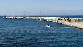Port de Ventotene images libres de droits