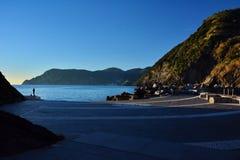 Port de Vernazza, Cinque Terre l'Italie Photos stock