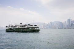Port de Victoria à Hong Kong Image stock