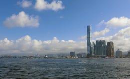 Port de Victoria, Hong Kong Photos stock