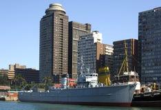 Port de ville Images stock