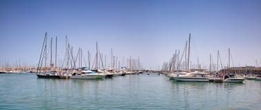 Port de ville Image libre de droits