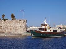 Port de ville de Kos Photos libres de droits