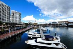 Port de ville de Sydney Images libres de droits