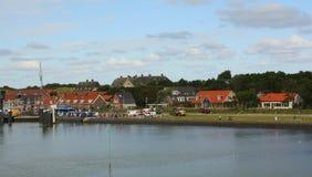 Port de Vlieland photographie stock libre de droits