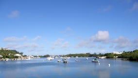 Port de Waterlot, Bermudes Photographie stock libre de droits