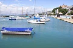 Port de Wellington, Nouvelle Zélande photo stock