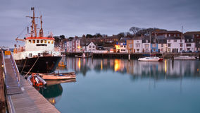 Port de Weymouth dans Dorset. Photo stock
