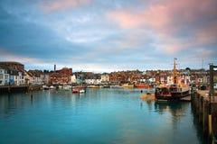Port de Weymouth dans Dorset photographie stock