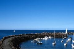 Port de Wollongong Image stock