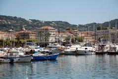 Port de yacht à Cannes Image stock