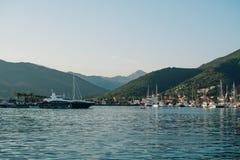 Port de yacht photographie stock