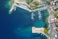 Port de yacht images stock
