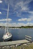 Port de yacht Photographie stock libre de droits